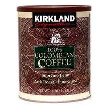 KIRKLAND SIGNATURE DARK COLOMBIAN GROUND COFFEE, 1.36KG