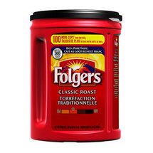FOLGERS CLASSIC ROAST GROUND COFFEE 1.36KG