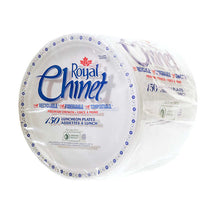 ROYAL CHINET LUNCHEON PAPER PLATES 8 3/4, PACK OF 150 UN