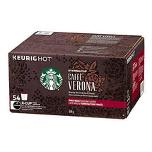 STARBUCKS VERONA COFFEE K-CUP PODS, PACK OF 54