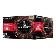 VAN HOUTTE ORIGINAL HOUSE BLEND COFFEE K-CUP PODS, PACK OF 80