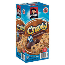 QUAKER CHEWY CHOCOLATE CHIP BARS, 48 X 26G