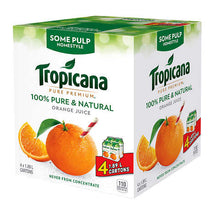 TROPICANA PURE PREMIUM HOMESTYLE ORANGE JUICE SOME PULP, 4 X 1.89L