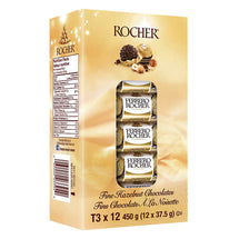 FERRERO ROCHER CHOCOLATES, 12 X 37.5G