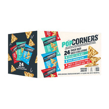 POPCORNERS, ASSORTED FLAVOURS 24 X 28G