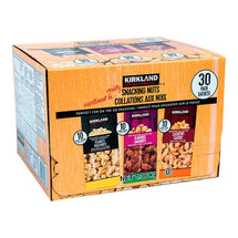 KIRKLAND SIGNATURE, SNACKING NUTS VARIETY PACK, 30 X 45G