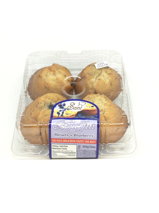 SANI MUFFINS BLUEBERRY 454 G