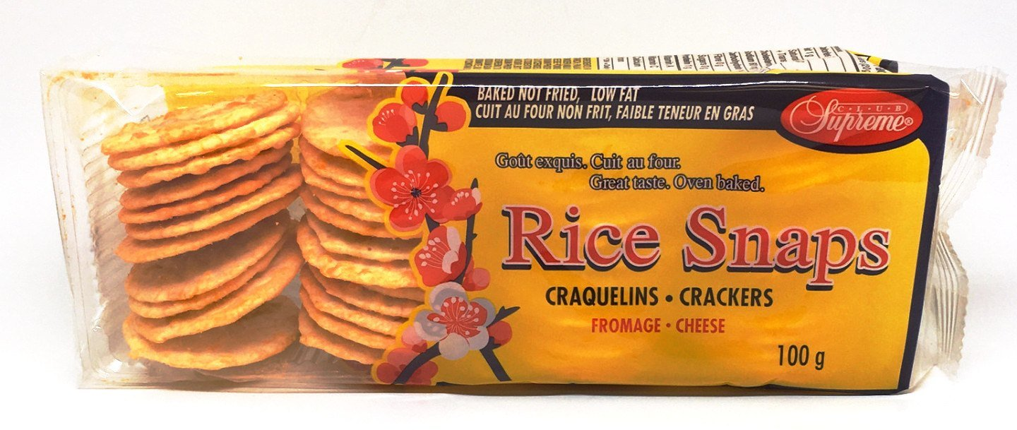 CLUB SUPREME CRACKERS RICE CHEESE 100 G