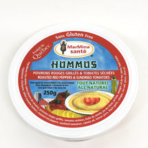 MARMINA HUMMUS ROASTED PEPPERS AND TOMATO 250 G