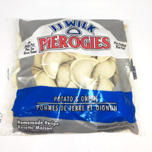 JJ WILK PEROGIES POTATO AND ONIONS 907 G