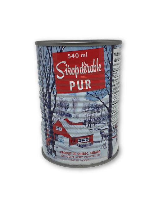 PUR MAPLE SYRUP CLEAR 540 ML