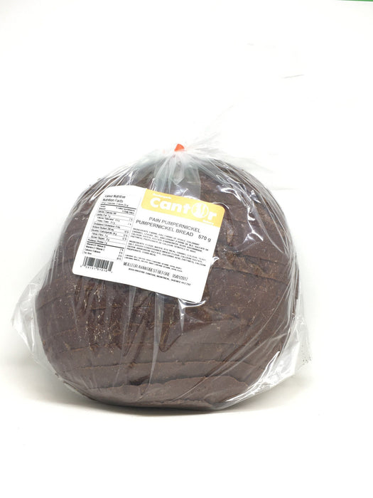 CANTOR PUMPERNICKEL BREAD 570 G