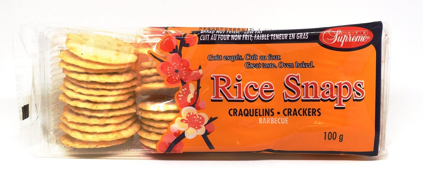 CLUB SUPREME CRACKERS RICE BBQ 100 G