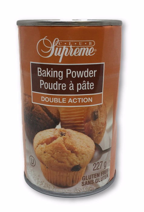CLUB SUPREME BAKING POWDER NO GLUTEN 227 G