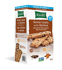KASHI, SEVEN GRAINS WITH QUINOA BARS, 40 x 20G