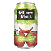 MINUTE MAID APPLE JUICE 24x341 ML