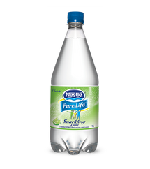 NESTLE PURE LIFE SPRING WATER SPARKLING LIME 12 X 1L