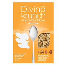 DIVINA KRUNCH CEREAL NUTS AND PECANS 400 G