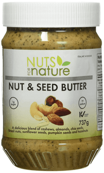 NUTS FOR NATURE NUT BUTTER, 737G