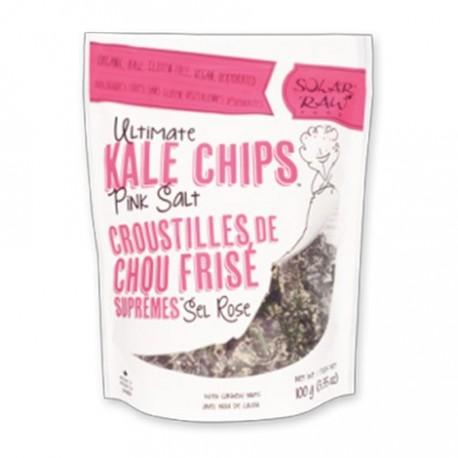 SOLAR RAW FOOD CHIPS KALE ULTIMATE PINK SALT 100 G