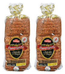 ST METHODE CAMPAGNOLO 9 GRAINS BREAD, 2 X 570G