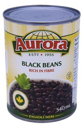 AURORA BLACK BEANS 540 ML