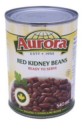 AURORA RED KIDNEY BEANS 540 ML