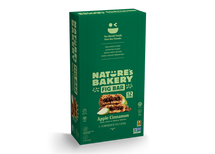 NATURE'S BAKERY FIG BARS - WHOLE WHEAT APPLE CINNAMON FIG BAR - 12X57G