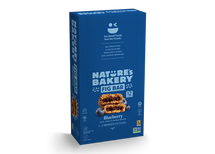 NATURE'S BAKERY FIG BARS - WHOLE WHEAT BLUEBERRY FIG BAR - 12X57G