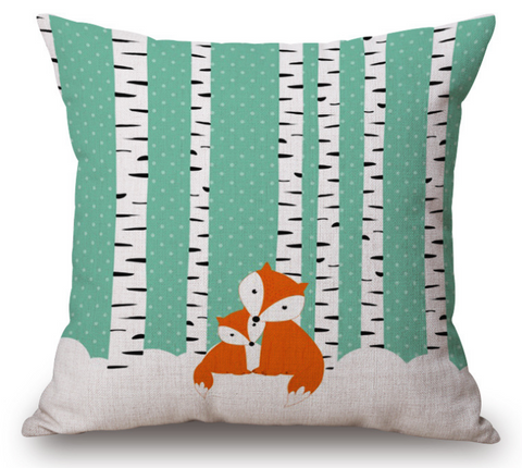 Fox Pillow - Cooper's Closet