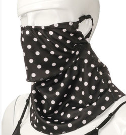 Polka Dot Face Neck Mask/Scarf