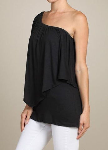 Versatile Wear It Four Ways Solid Convertible Top