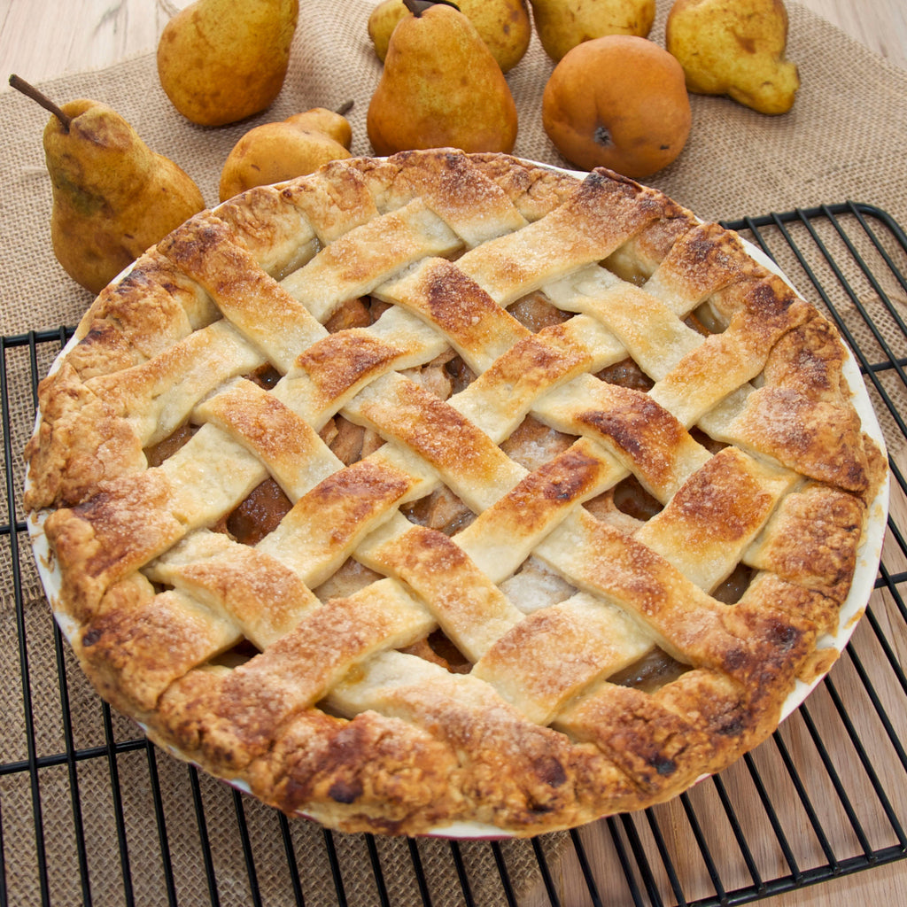 Organic Pear Pie Recipe - FruitShare