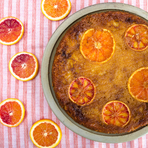Blood Oranges Take the Cake