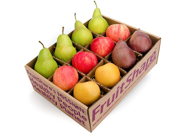 FruitShare™ employee wellness club - organic fruit - 12 pieces - fall fruit