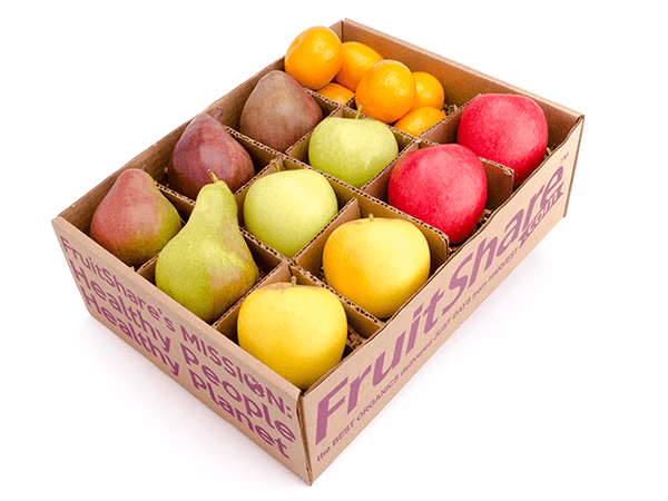 FruitShare- Seasonal Fruit Gifts - Half Share-Organic Fruit-Fall Fruit-Fruit Delivery-satsumas-opal apples
