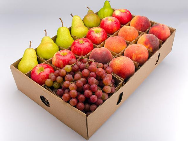 FruitShare - Full Share - Colorado Peaches-organic pears-honeycrisp apples