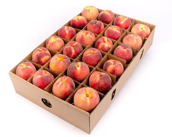 FruitShare - Seasonal Fruit Gifts - Organic Colorado Peaches - 24 ct