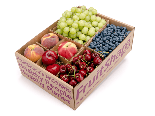 FruitShare™ farm fresh fruit club - organic fruit - half share - summer fruit