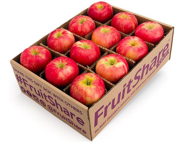 Honeycrisp apple Gift Basket - Organic Fruit Delivery - 12 count