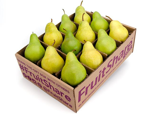 FruitShare-Organic Pears-Gift-Fall Fruit Half Share