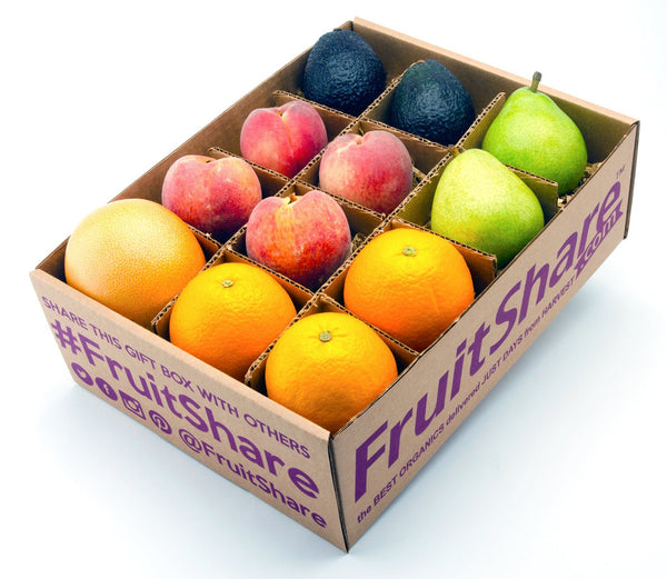 spring mixed fruit gift - organic fruit delivery - fruitshare