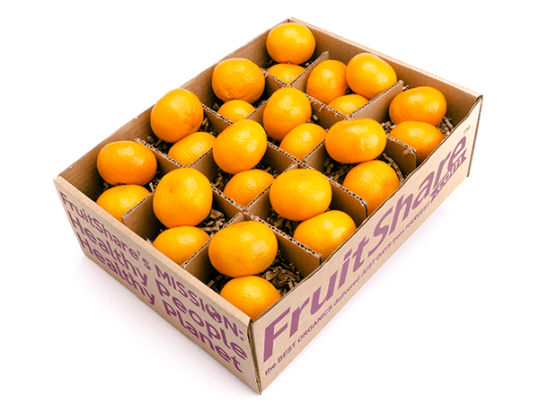 Satsumas- mandarin orange - gift box- in season fruit delivery - FruitShare