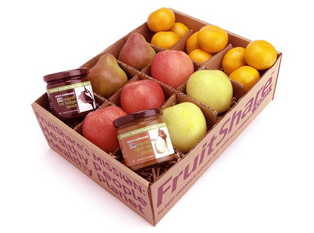 sweet tooth chocolate caramel fruit gift - FruitShare