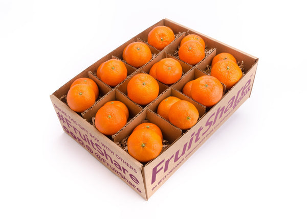 Seasonal Fruit Gifts - Organic Pixie Tangerines - Half Share