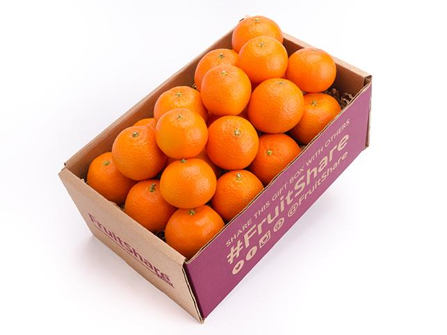 Clementines gift box - Organic fruit delivery - FruitShare