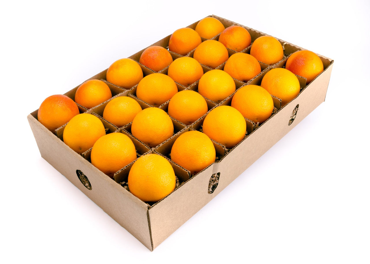 FruitShare™ seasonal fruit gift - organic fruit - 24 blood orange