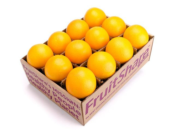 Navel orange 12 ct - Organic fruit delivery - FruitShare