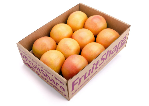 rio star grapefruit 8 ct - organic fruit delivery - winter - gift- FruitShare