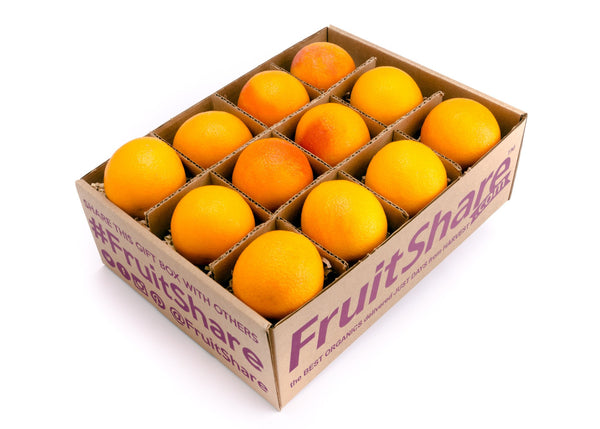 Seasonal Fruit Gifts - Organic Blood Oranges - 12 ct